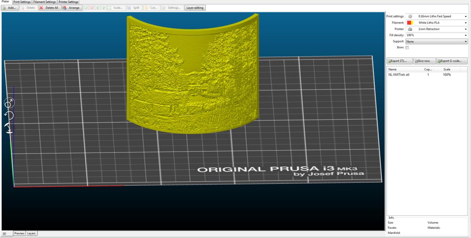 3D Printed Lithophane Night Light - 3D NEWB